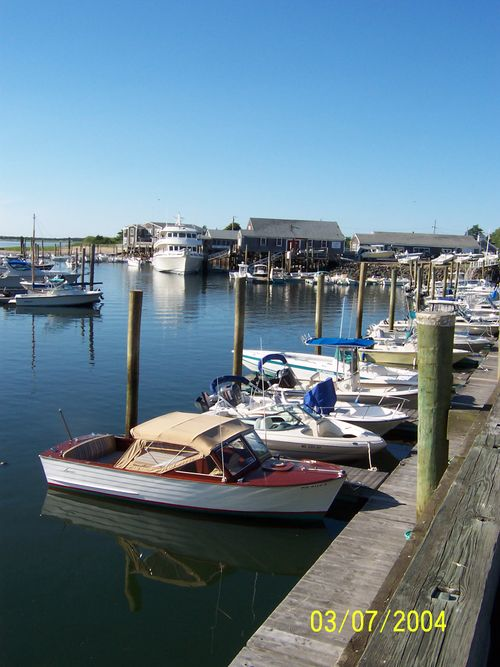 Summer in Barnstable Harbor